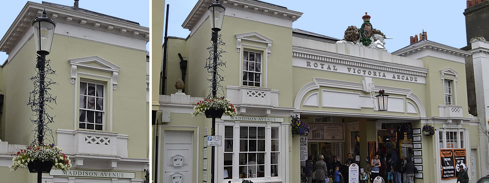 Royal Victoria Arcade, Isle of Wight